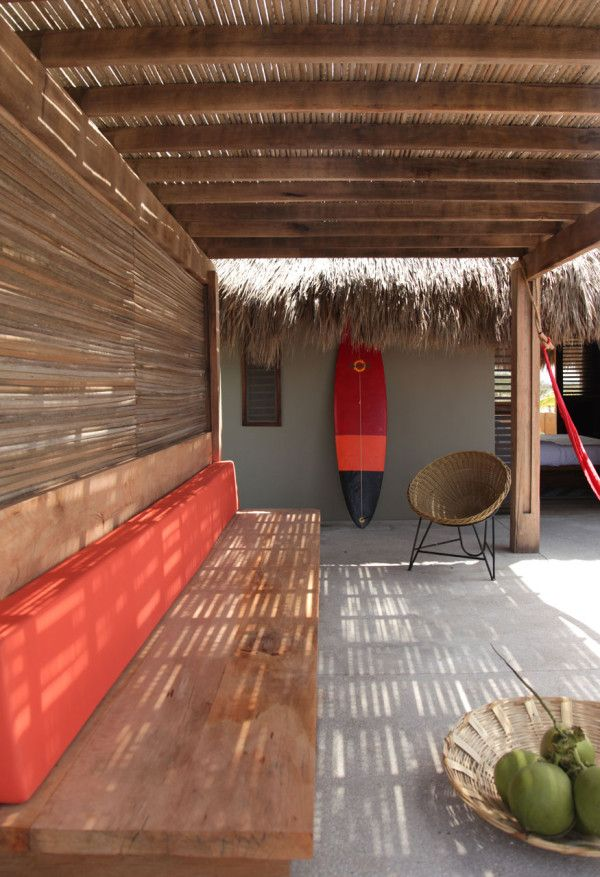 A Secluded Beach Hut Village On Mexico S Coast