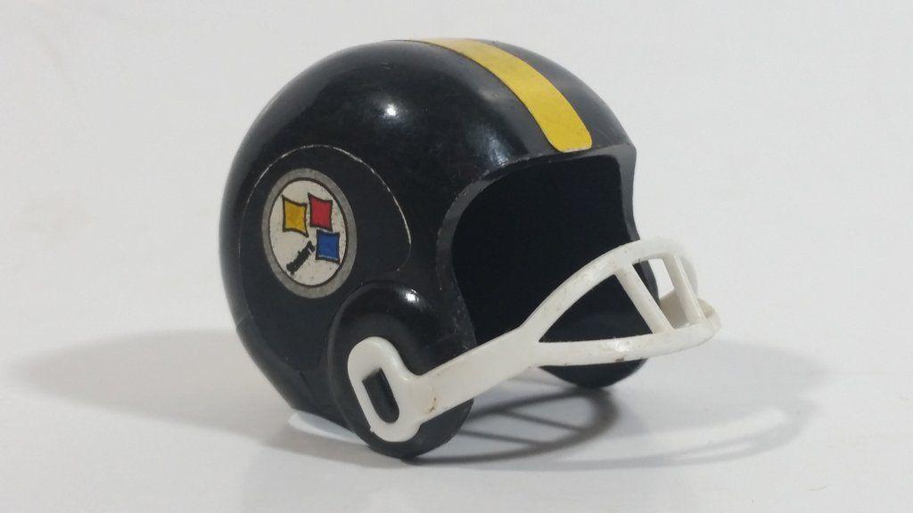 Vintage Opi Pittsburgh Steelers Nfl Team Gumball Miniature Mini Football Helmet Mini Football Helmet Football Helmets Mini Footballs