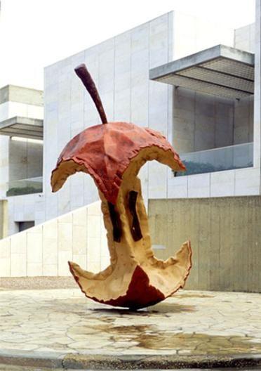 Claes Oldenburg Elements: Line, color, shape, form Principle ...