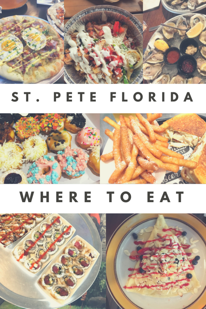 The 15 Best Restaurants In St Pete Florida This Guide Has Tips For All Eats Any Budget Travel Vacation Foo