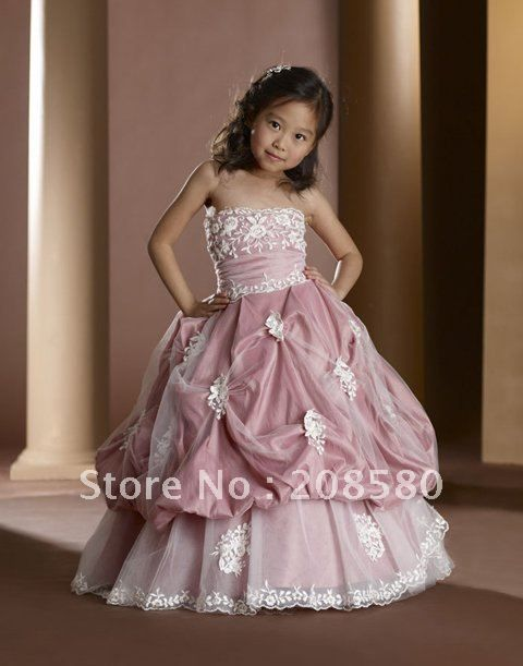 Collection Ball Gown Flower Girl Dresses Pictures - Weddings Pro