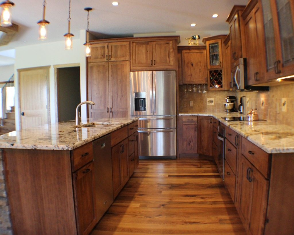 Rustic Beech Briarwood Kitchens In 2019 Wood Floor