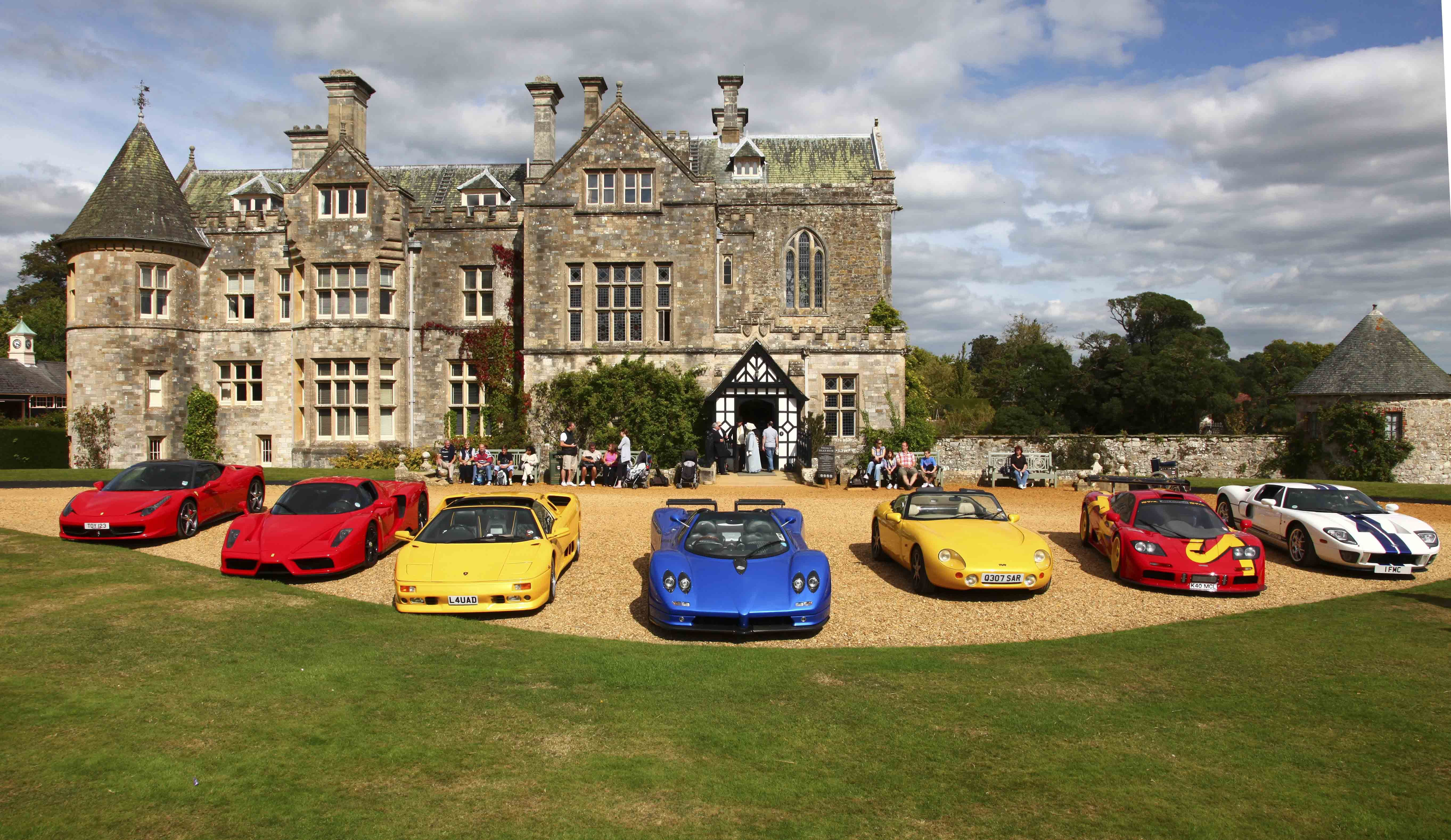 My Dream Garage With Images New Forest Stately Home Car Museum