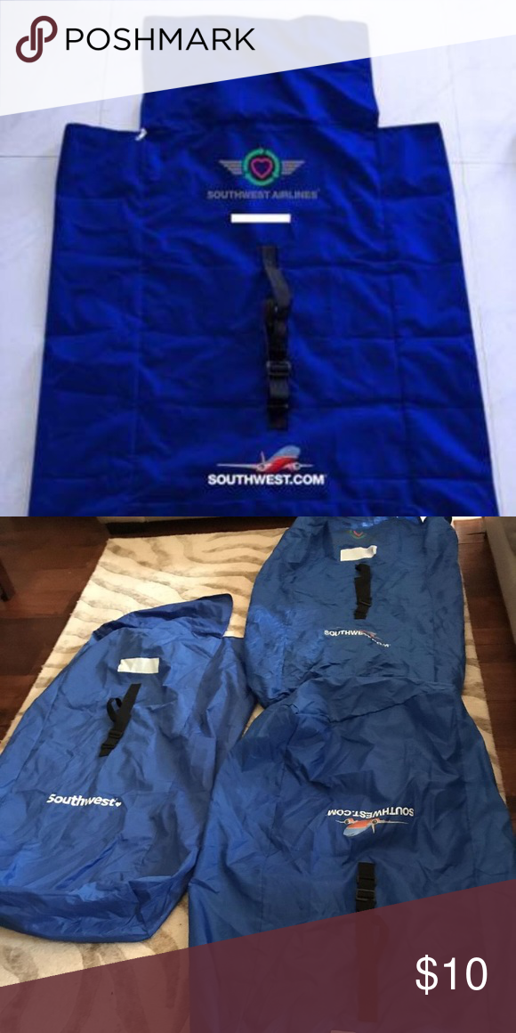 Reusable Southwest Airlines car seat bags. The car seat/stroller bag ...