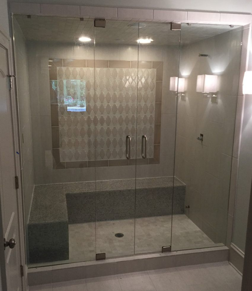 Steam Showers Frameless Shower Doors With Images Steam Room