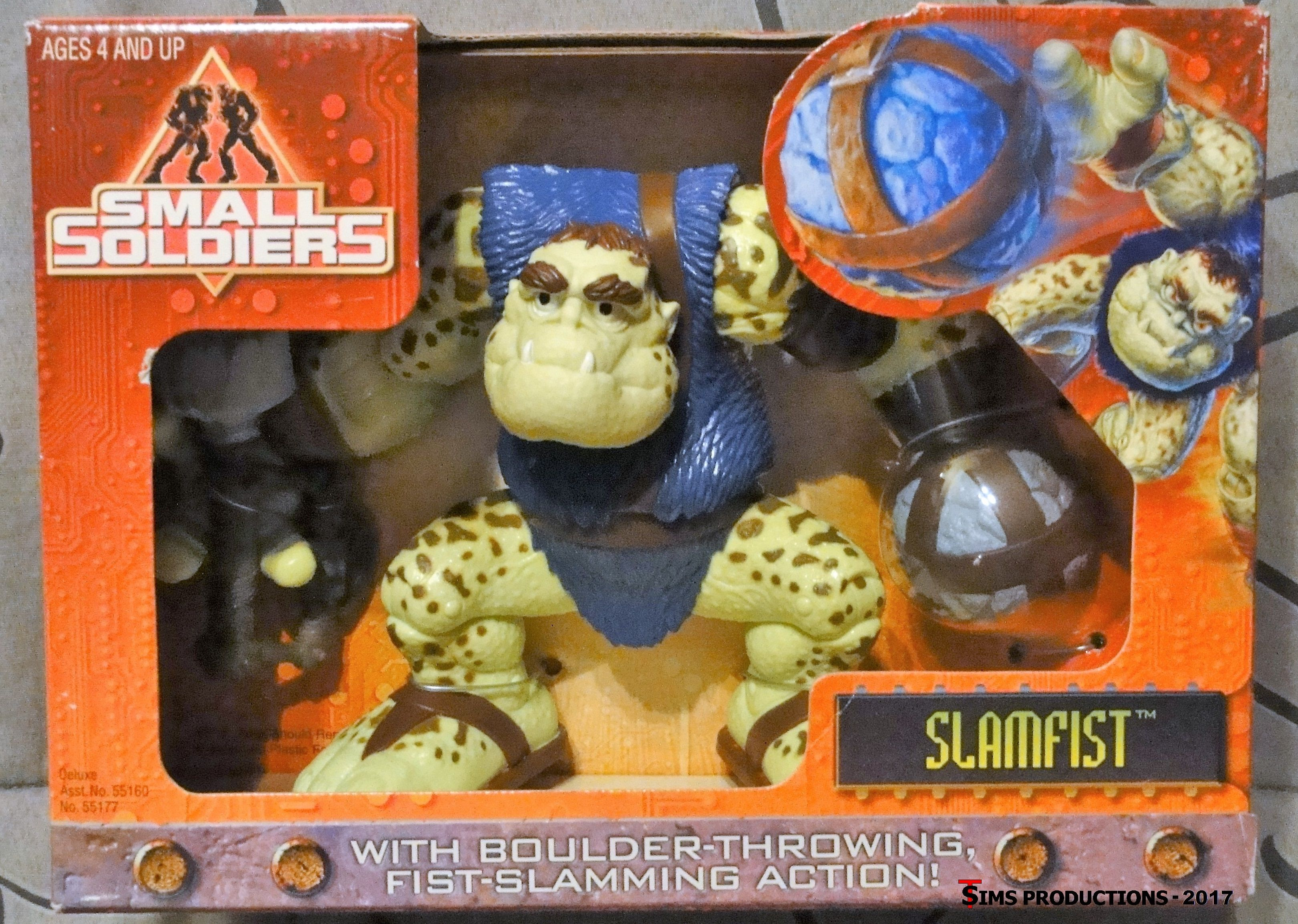 TAS034111 1998 Dreamworks Small Soldiers Spoke Climbers Gorgonites