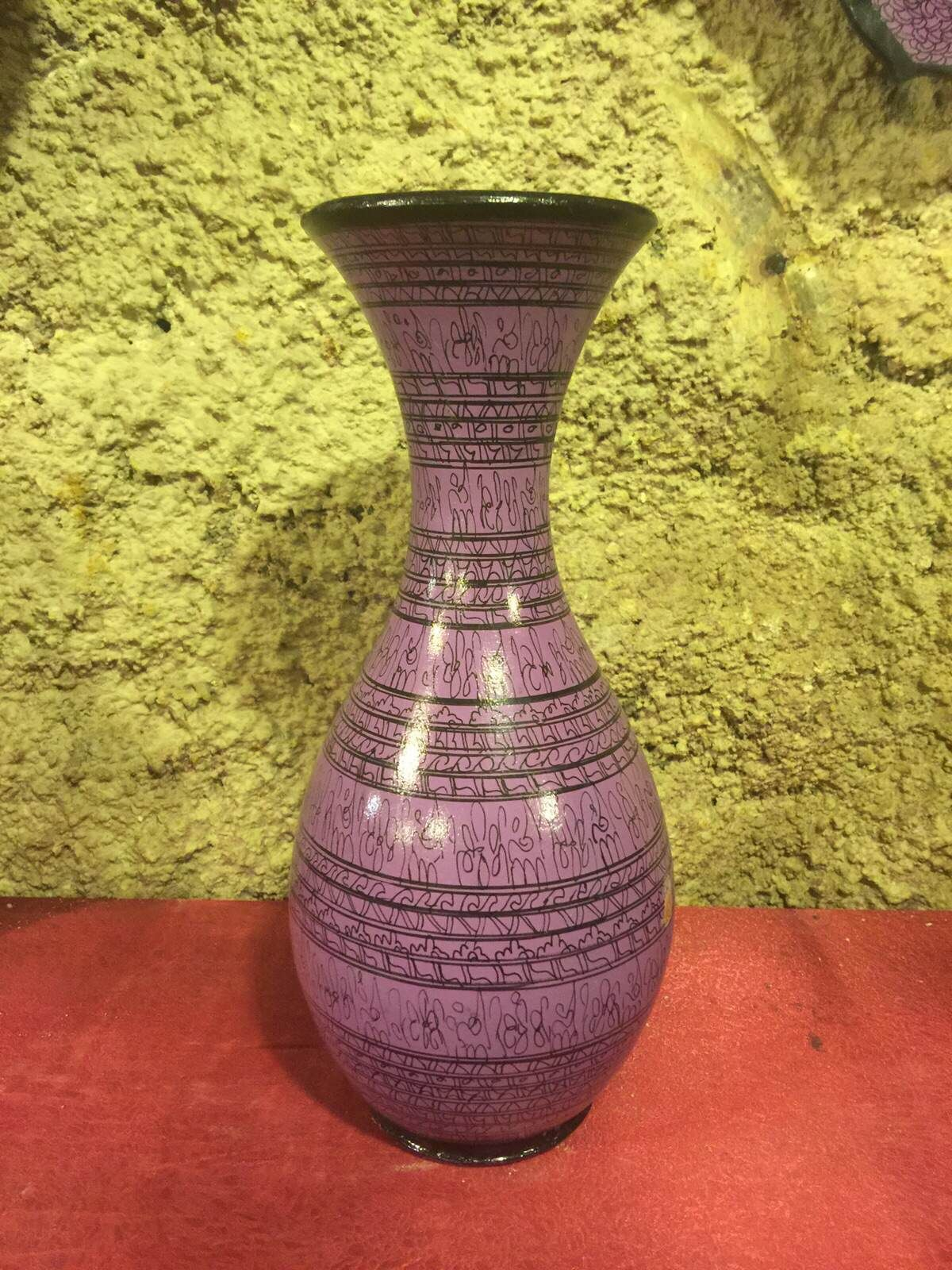 Turkish ceramic purple vase 20 cm turkish ceramic vase gift turkish ceramic purple vase 20 cm reviewsmspy