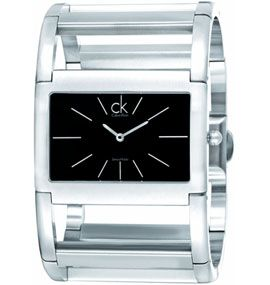 BlingDaily.com Today's Deal - Calvin Klein Ladies Dress X K5911107 Steel Band Bangle Watch    Retail Price: $320.00  Offer price: $59.99  You save: 82%  Hurry Up!!! Limited Time Offer!!!
