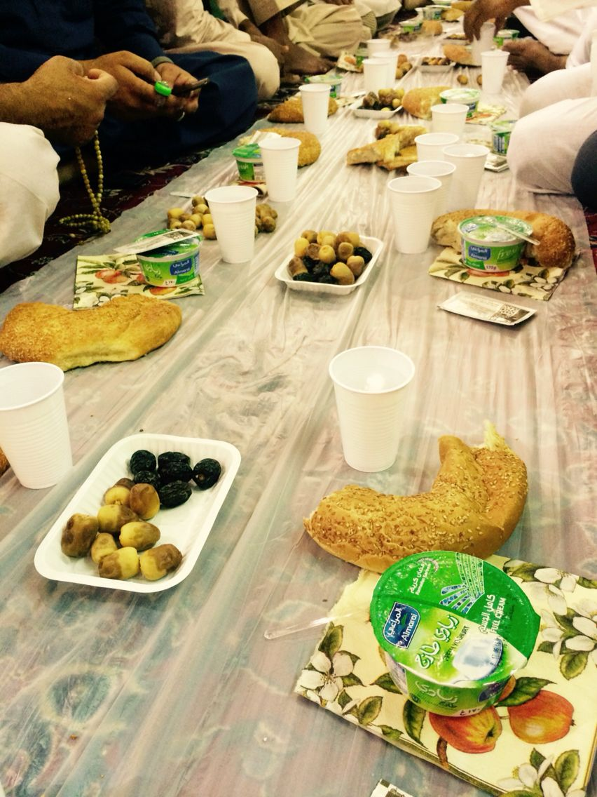 Nothing Is Better Than Breaking Your Iftar In Medinah Makkah With