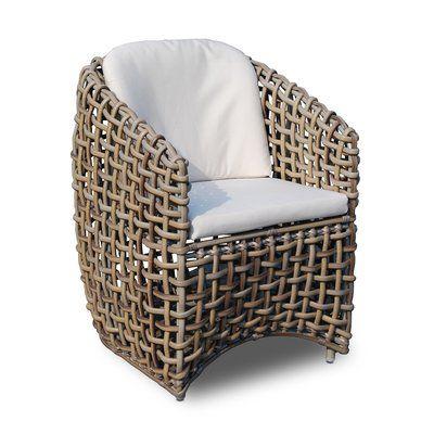 Skyline Design Dynasty Patio Dining Chair With Cushion Patio Dining Chairs Outdoor Dining Chairs Skyline Design