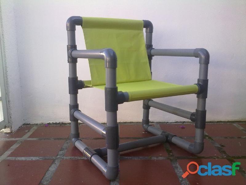 Silla gio pvc plastica en los teques pl stico sillas y - Sillas de jardin de plastico ...