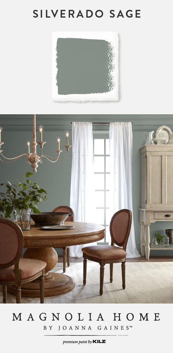 Silverado Sage Interior Paint Green Dining Room Dining Room Colors Dining Room Small