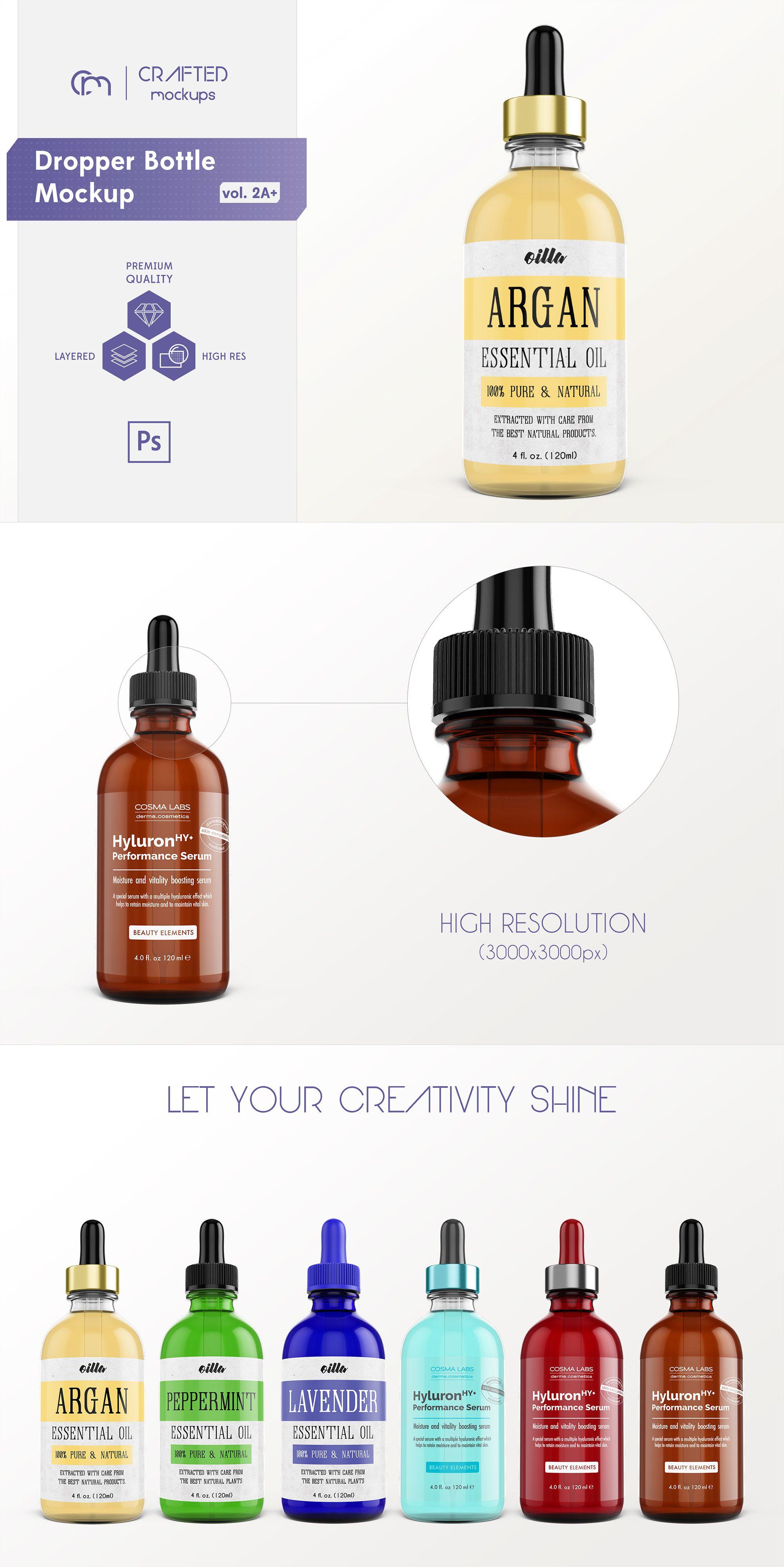 Download Free Mockups 15Ml Amber Glass Essential Oil Bottle Psd Free Mockups