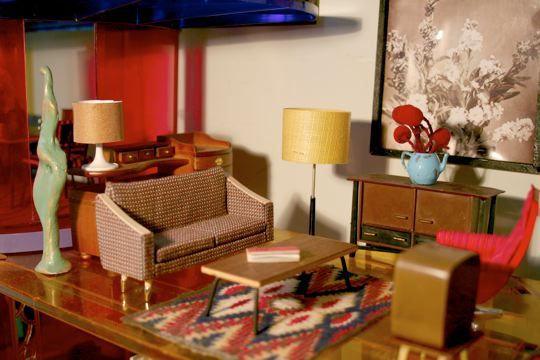 Dollhouse living room.