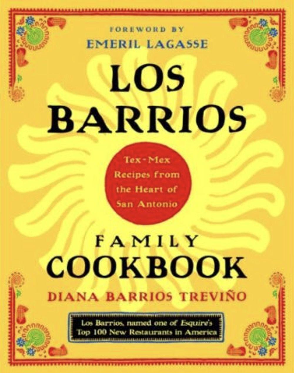 Diana Barrios Treviño Tex mex recipes, Family cookbook