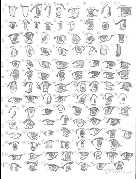 How To Draw Eyes Crying Hairstyle Anime Drawings Art Tutorials Manga Art