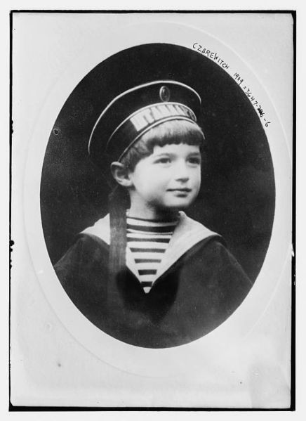 His Imperial Highness Tsarevich Alexei Nikolaevich. Son of Nicholas II and Alexandra.  Lived 1904-1918. Murdered by the Bolsheviks.