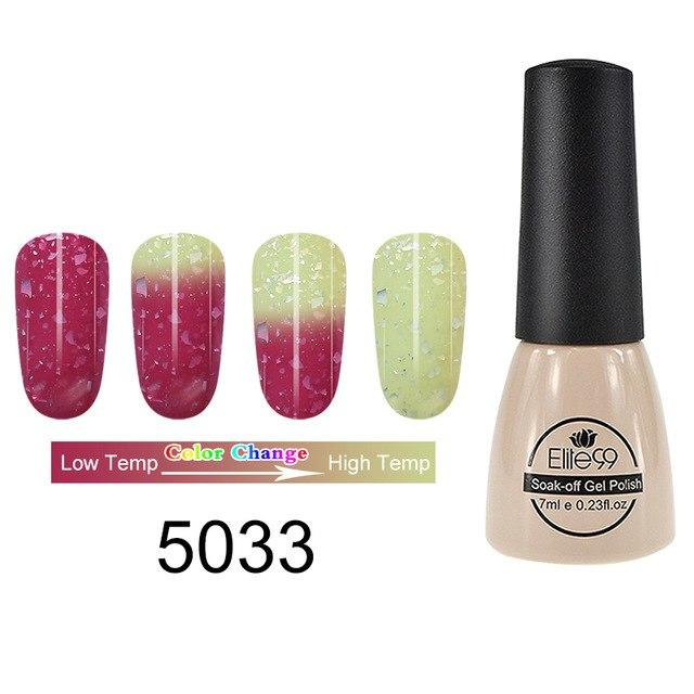 Elite99 Thermal Color Changing Gel Nail Polish Hot Cold Temperature Nail Art With Images Gel Nail Varnish Gel Nails Nail Polish
