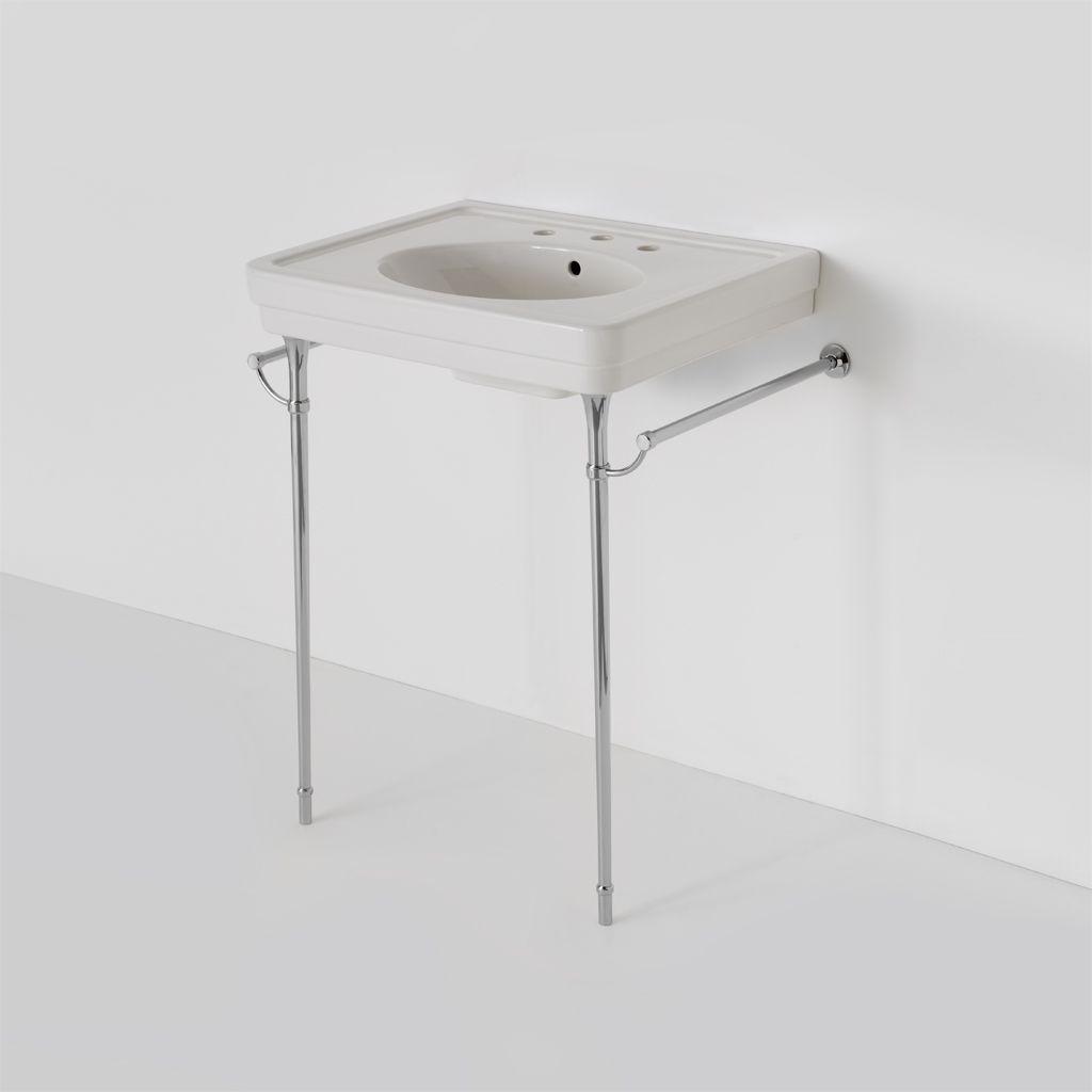 Alden Metal Round Two Leg Single Washstand 5 13/16