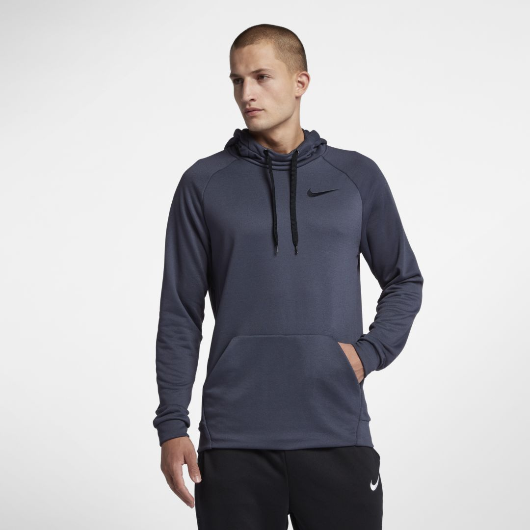 4f4915a471aa1 Nike Dry Men s Pullover Training Hoodie Size 3XL Tall (Thunder Blue ...