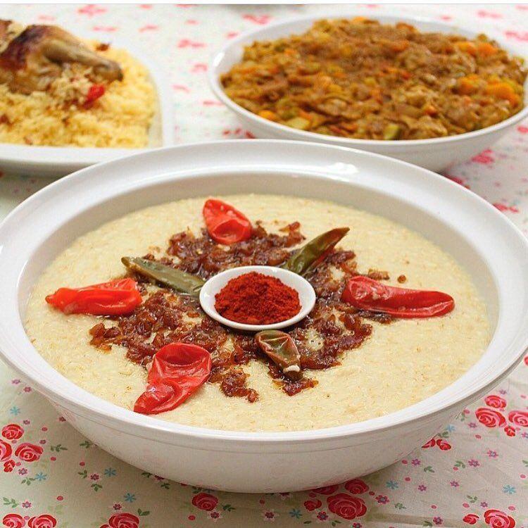 طريقة عمل الجريش وصفتين مختلفتين عالم المرأة Food Arabian Food Arabic Food