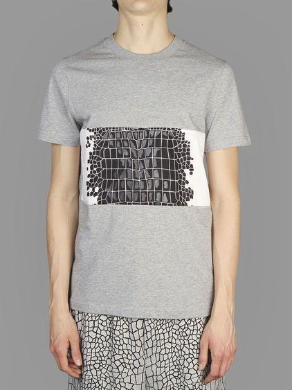 KRISVANASSCHE t-shirt with crocodile print #KRISVANASSCHE