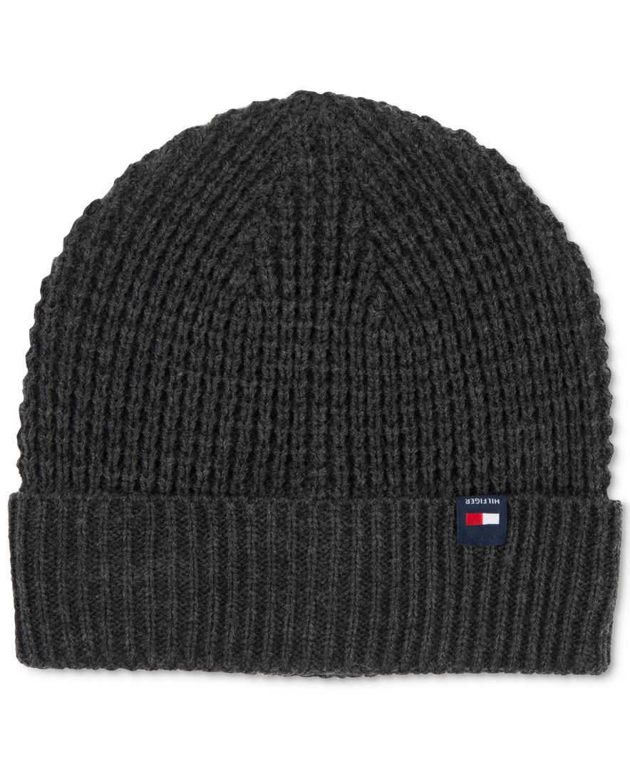 a7153fa40c3 Tommy Hilfiger Ribbed Knit Beanie   Reviews - Hats