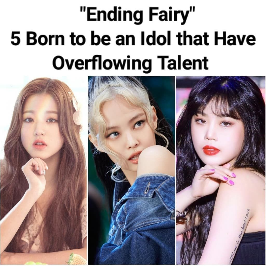 Queen Of Kpop Jennie Kim S Instagram Post Ending Fairy 5 Born To Be An Idol That Have Overflowing Talent Blackpink Je Blackpink Talent Instagram Posts