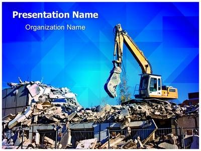 Demolition powerpoint template is one of the best powerpoint demolition powerpoint template is one of the best powerpoint templates by editabletemplates editabletemplates powerpoint building exterior disposal toneelgroepblik Image collections