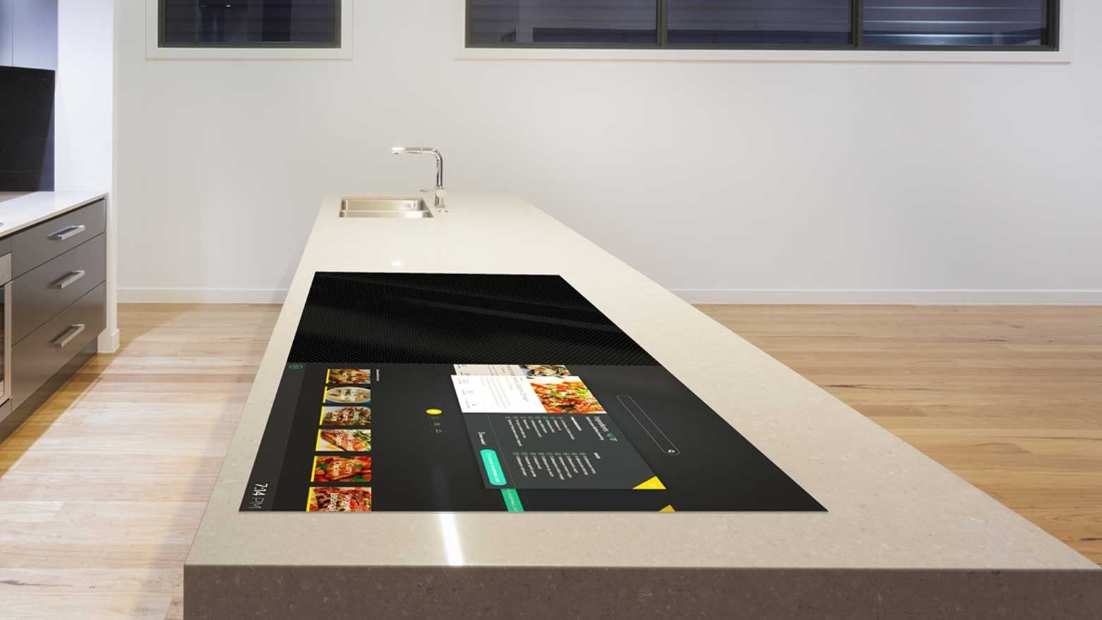 Dt Concepts The Smart Stove That Makes You A Better Cook Home Technology Interior Design Basics Futuristic Home