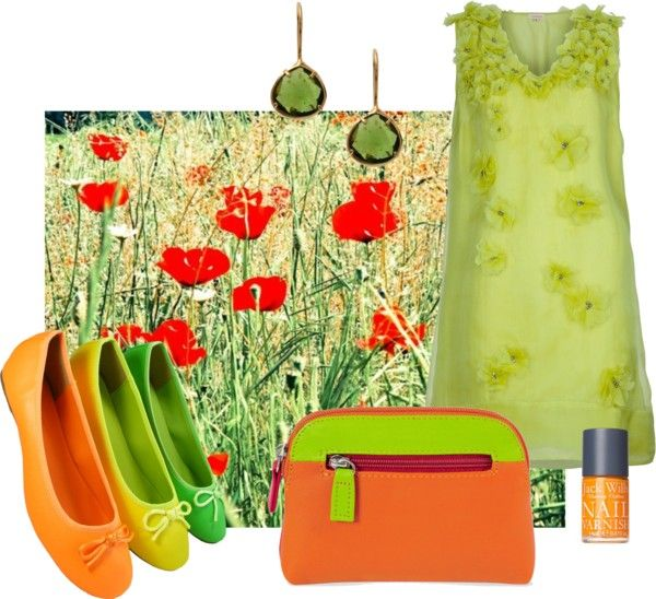 """Poppies"" by gailmarie on Polyvore"