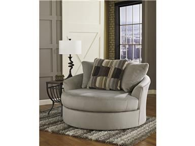 Shop For Ashley Signature Design Oversized Swivel Accent Chair