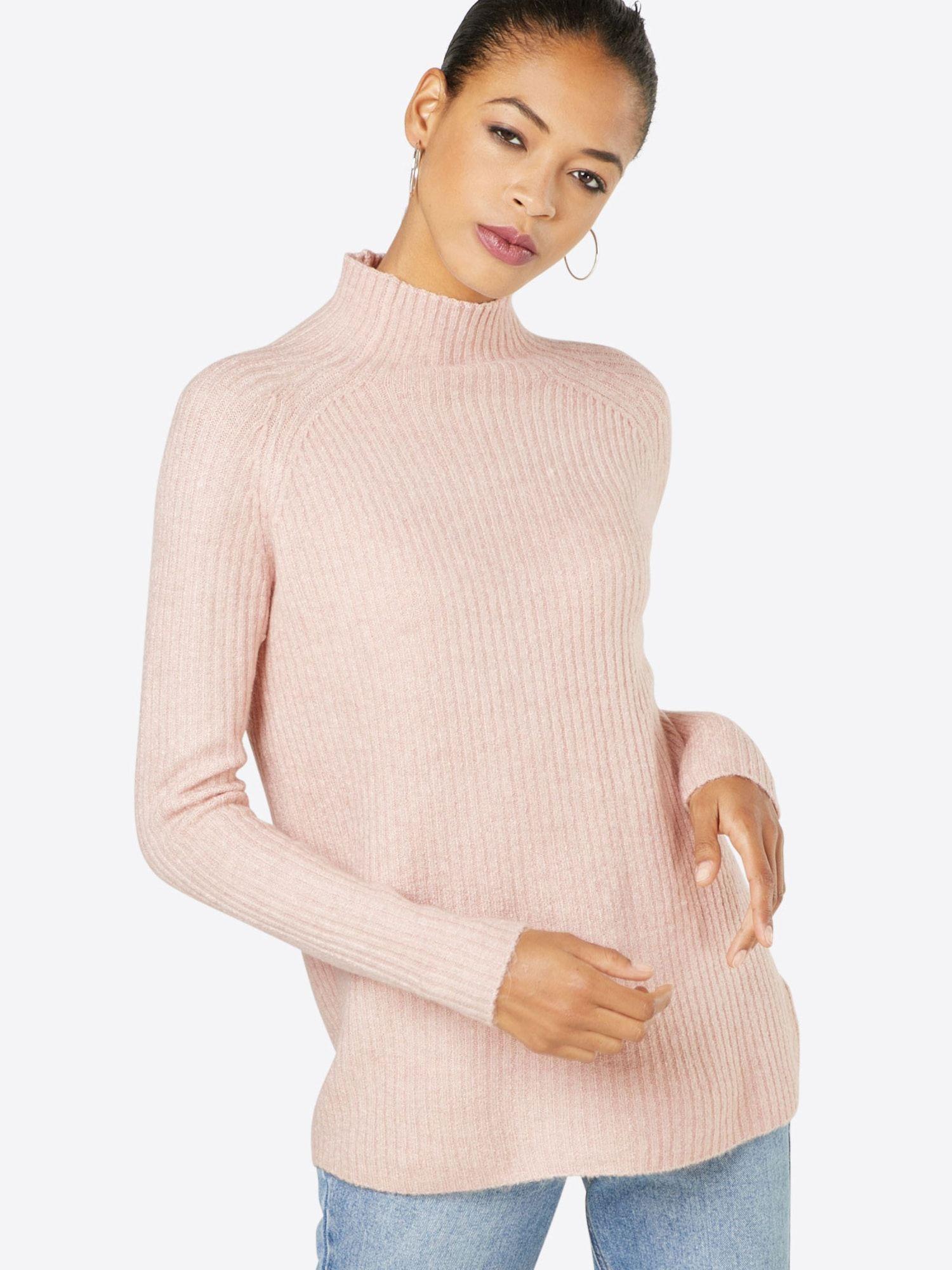 Only High Neck Pullover Orleans L S St Damen Altrosa Grosse Xl Pullover Damen Und Altrosa