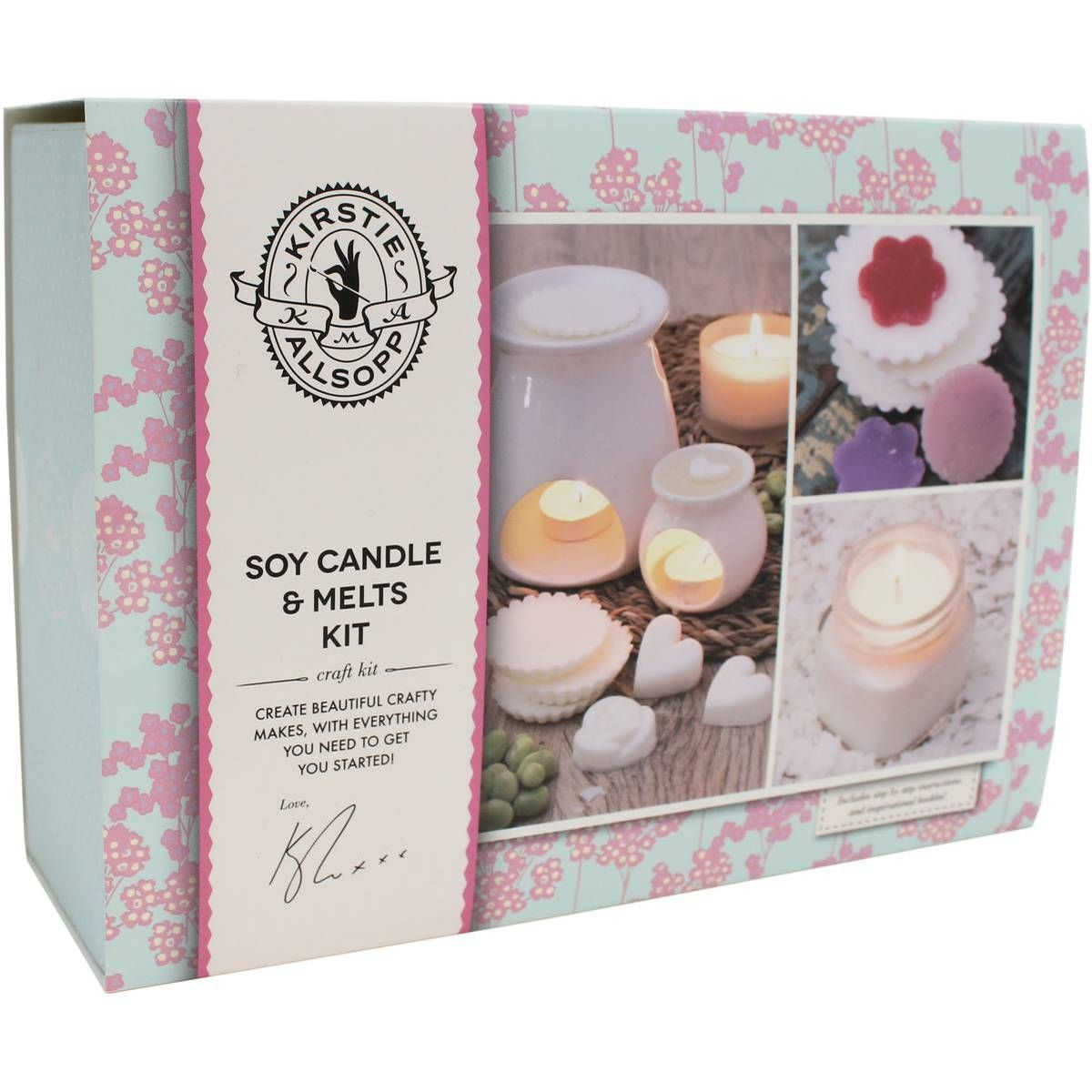 Kirstie Allsopp Soy Candle And Melts Kit Hobbycraft