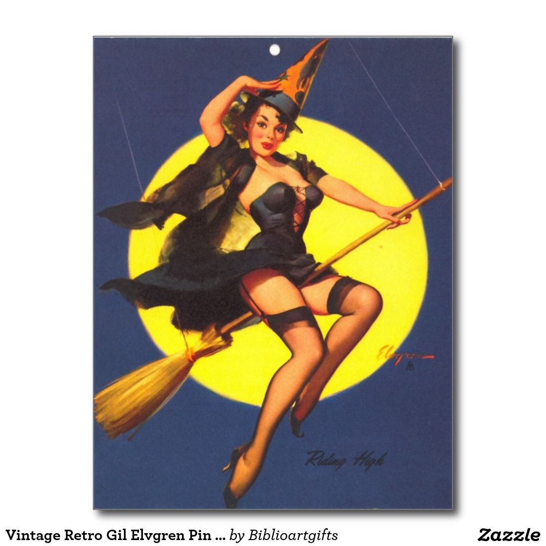 vintage retro pin up girl postcard | pin_up girls cards | pinterest