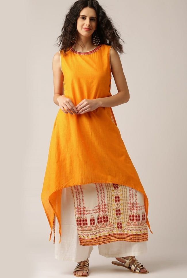 ca726efd912 20 Best Kurtas with Palazzo Looks that You Love To Buy