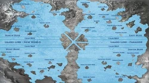 One Piece World Map New World one piece world map printable us maps ...