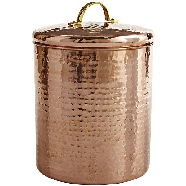 Pier 1 Imports Copper Cypress Grove Canister ($30) ? liked on Polyvore featuring home  sc 1 st  Pinterest & Pier 1 Imports Copper Cypress Grove Canister ($30) ? liked on ...