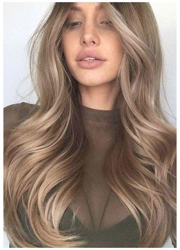 dark blonde hair balayage