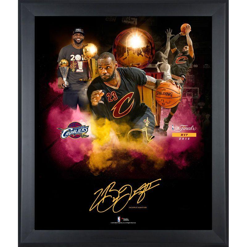 LeBron James Cleveland Cavaliers Fanatics Authentic Framed 20\