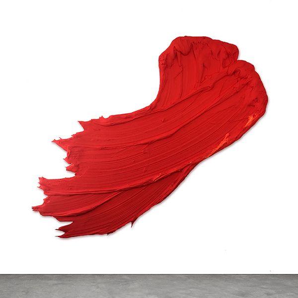 un gros coup de peinture sur le mur art peinture. Black Bedroom Furniture Sets. Home Design Ideas