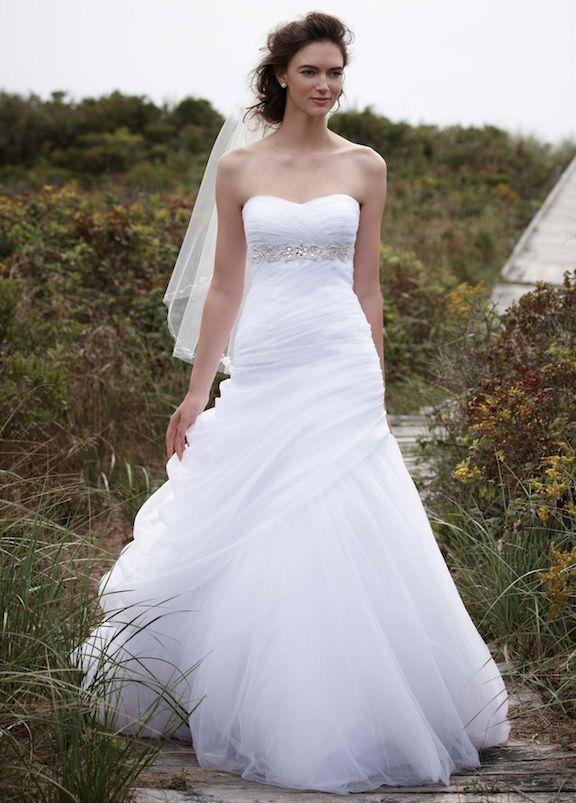 Davids Bridal V3448 Wedding Dresses Under 500