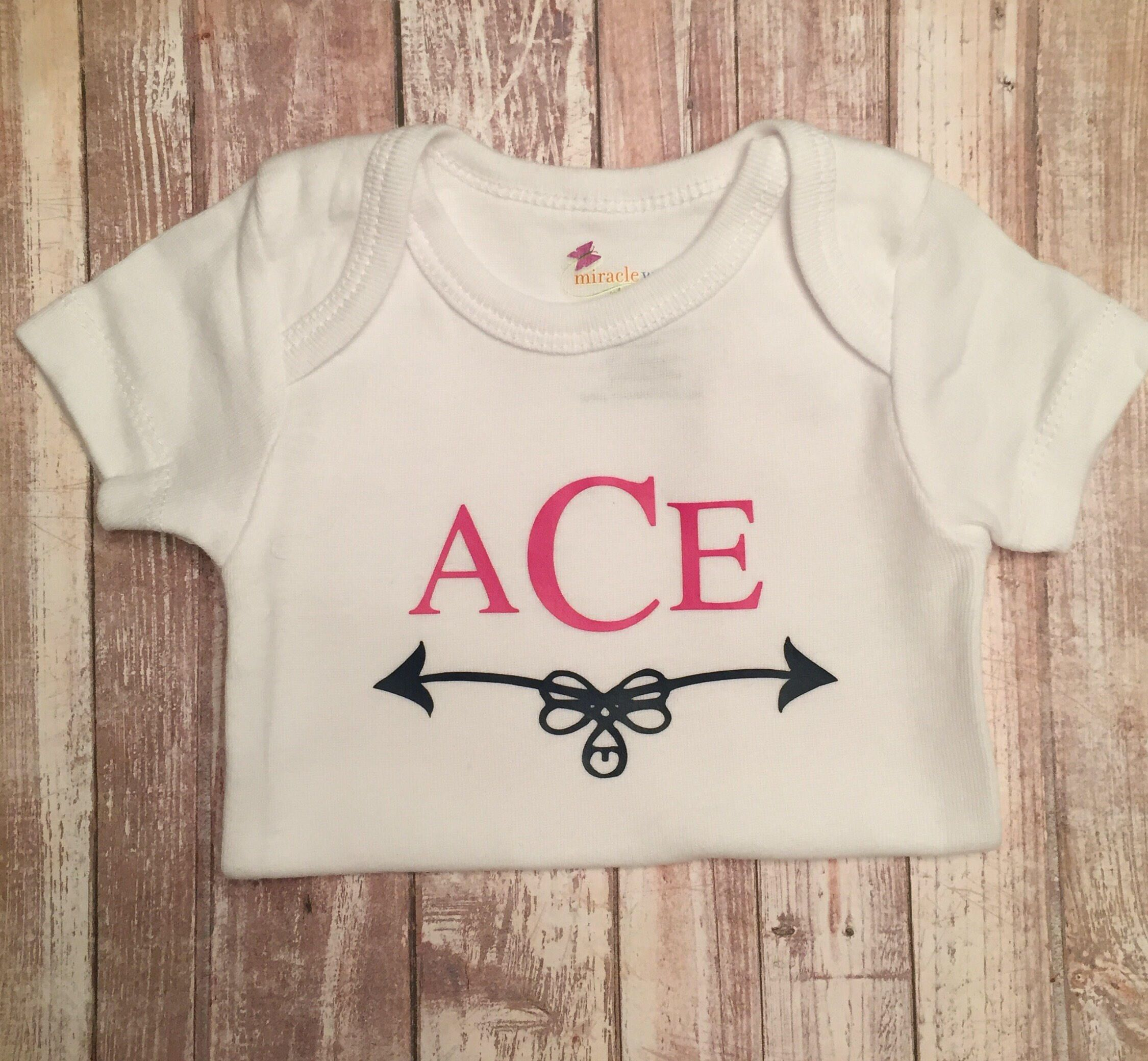 Monogrammed baby outfit coming home outfit baby shower gift monogrammed baby outfit coming home outfit baby shower gift personalized baby bodysuit negle Gallery