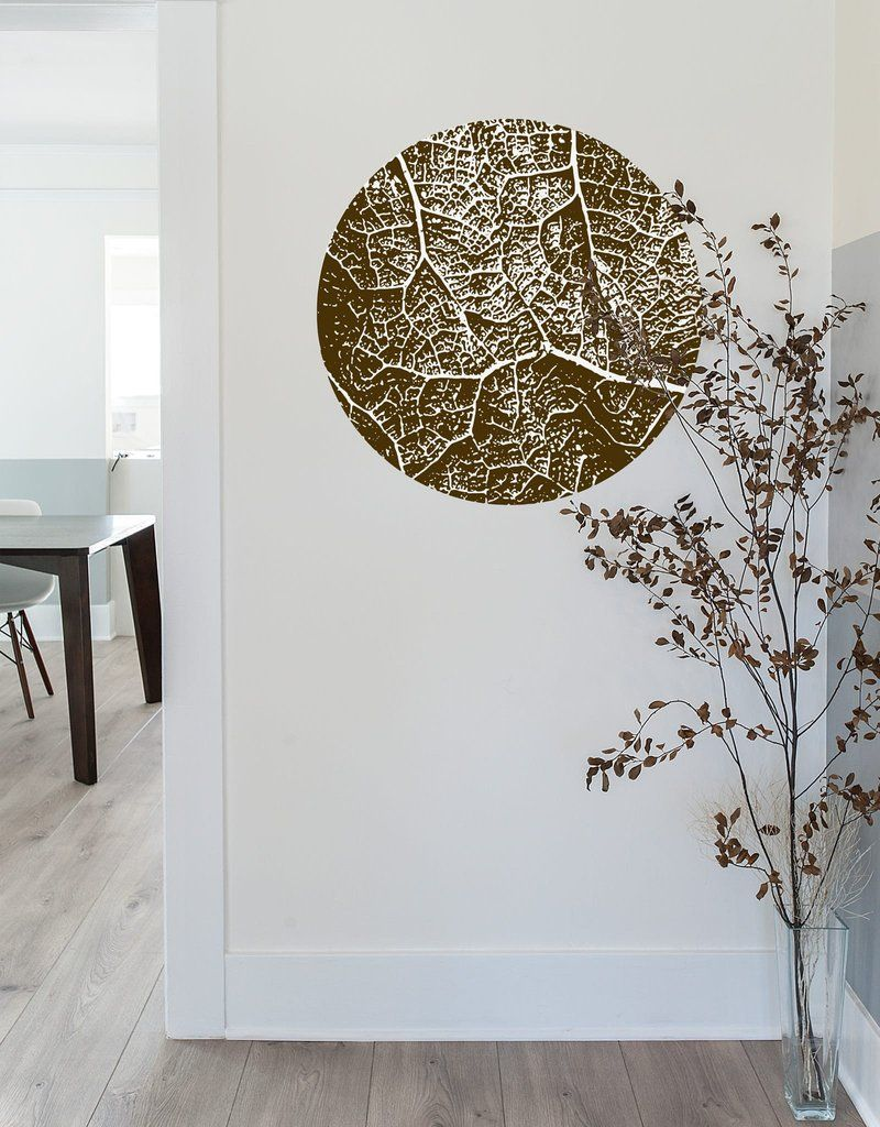 Leaf wall decal by BLIK Surface Graphics