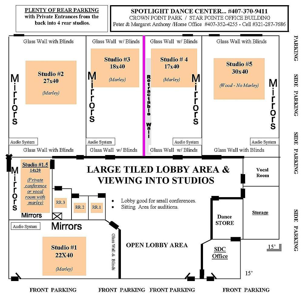 Dance Studio Floor Plan Gurus Floor