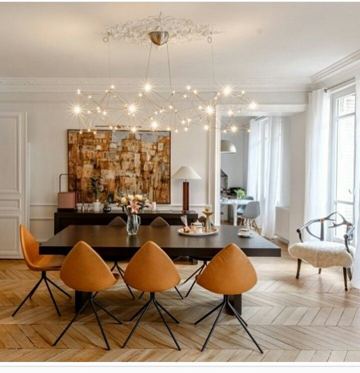 Luxury Farmhouse Interior Design: Pin De Puneet Saini En Dining