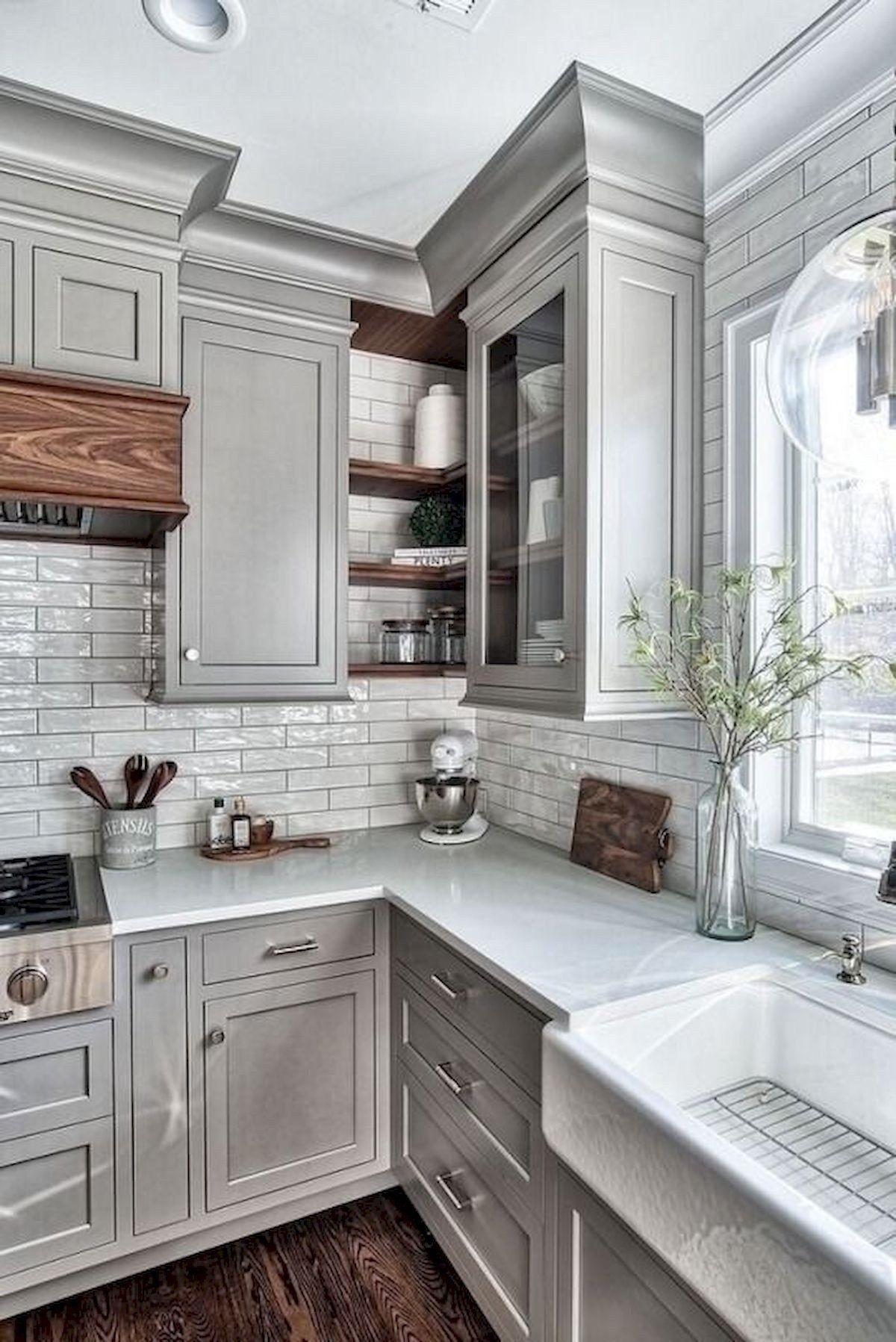 44 Best Farmhouse Kitchen Cabinets Design Ideas And Decor 33