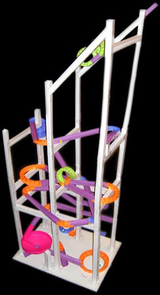 Paper Roller Coasters.com with downloadable templates, precut kits ...