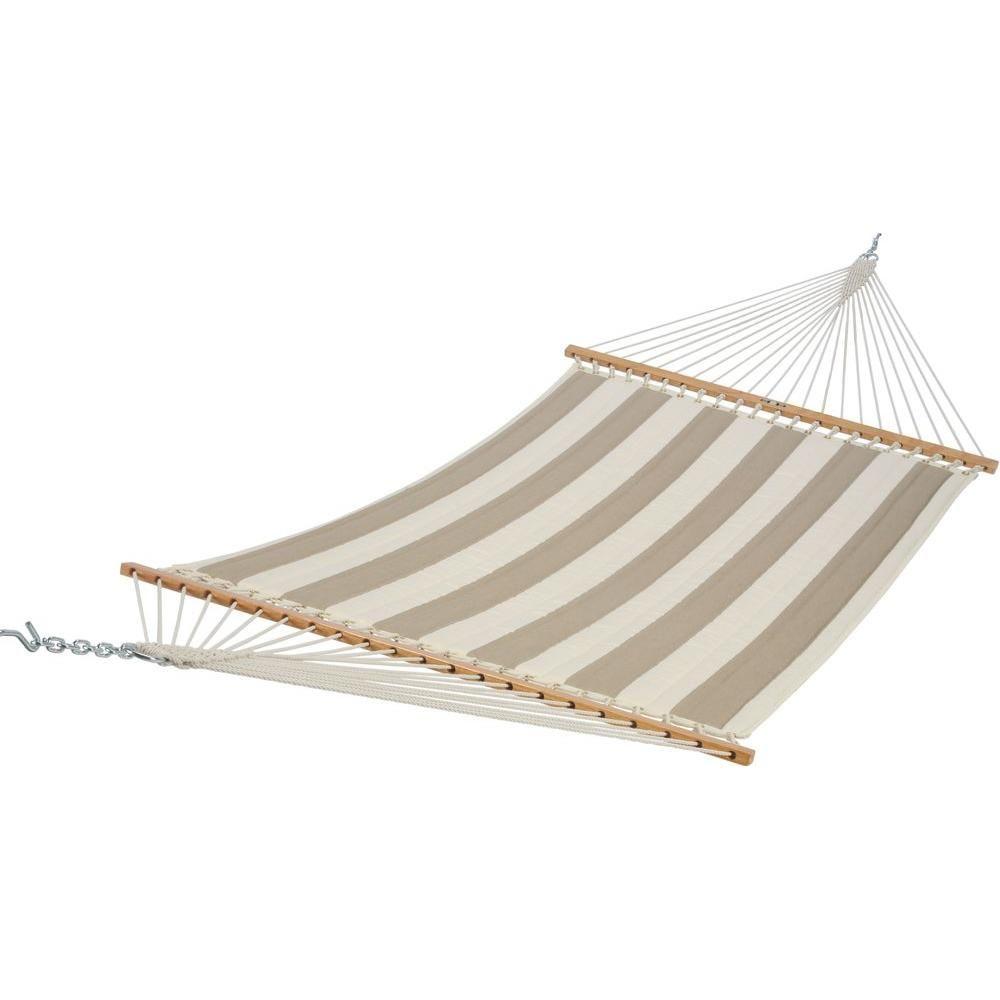Pawleys island 55 in w x 82 in l regency sand sunbrella