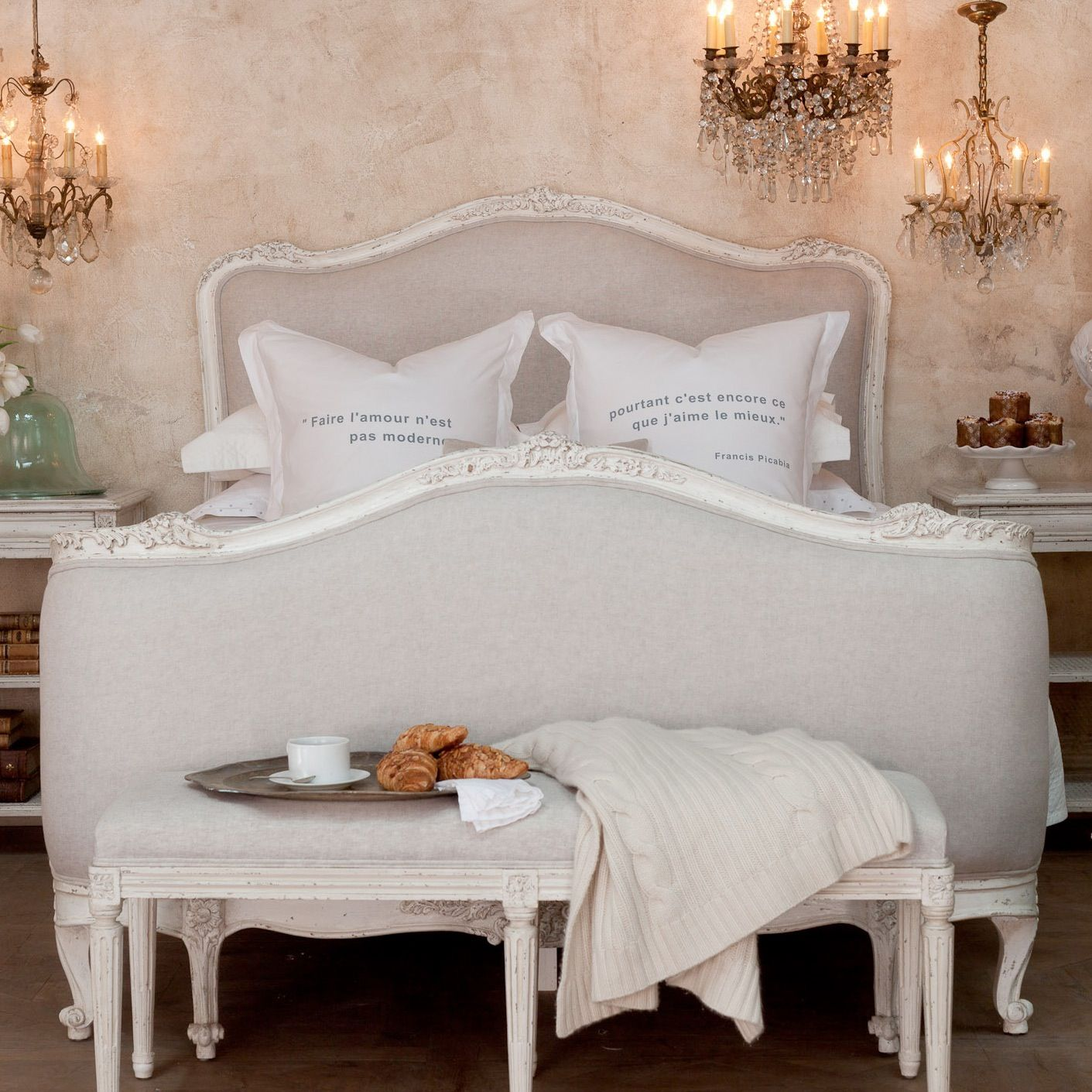 French Provincial bedroom | Bedrooms | Bedroom decor ...